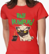 bah humpug Fitted T-Shirt