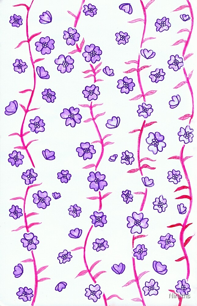 Flower Pattern by Nireths
