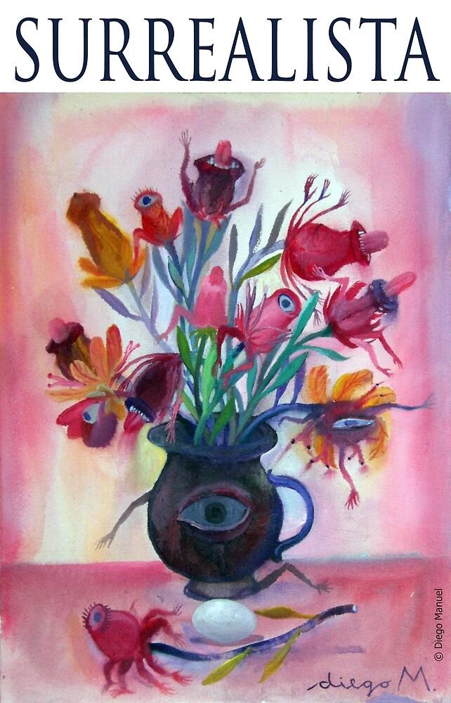 Fantastic vase by Diego Manuel Rodriguez