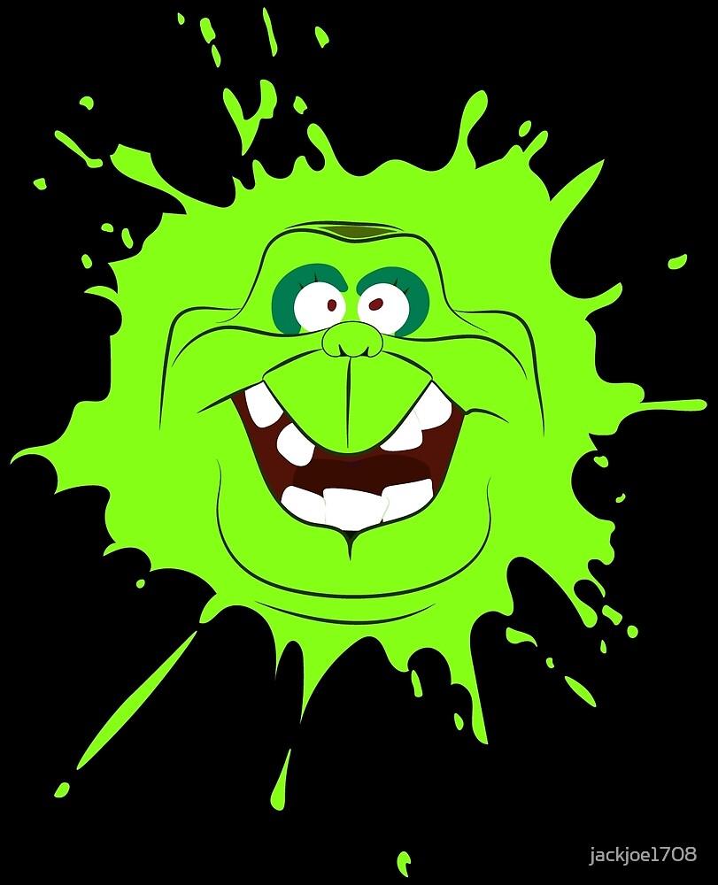 Cartoon style slimer (Ghostbusters) by jackjoe1708