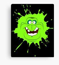 Cartoon style slimer (Ghostbusters) Canvas Print