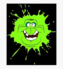 Cartoon style slimer (Ghostbusters) Photographic Print