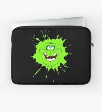 Cartoon style slimer (Ghostbusters) Laptop Sleeve