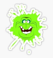 Cartoon style slimer (Ghostbusters) Sticker