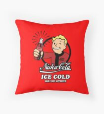 Fallout - Nuka Cola Throw Pillow