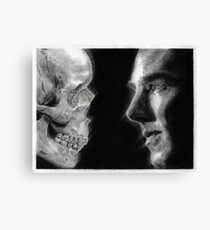 To be, or not to be ... Hamlet Version I Canvas Print