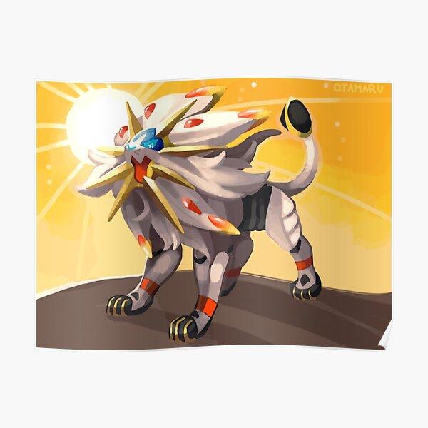 Pokémon - Solgaleo Poster