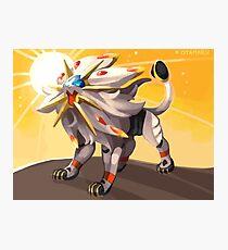 Pokémon - Solgaleo Photographic Print