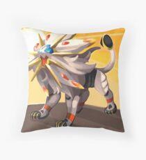 Pokémon - Solgaleo Throw Pillow