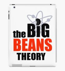 Big BEANS Theory iPad Case/Skin