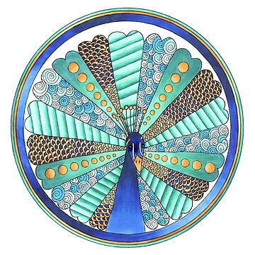 peacock by yayamerino