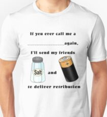 Assault and Battery fun shirt Unisex T-Shirt