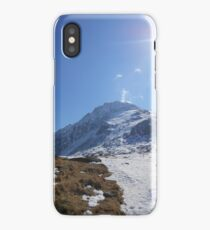 The Summit Awaits iPhone Case/Skin
