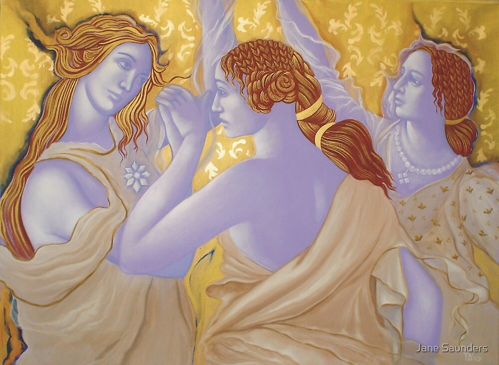 Dance of theThree Graces by Jane Saunders