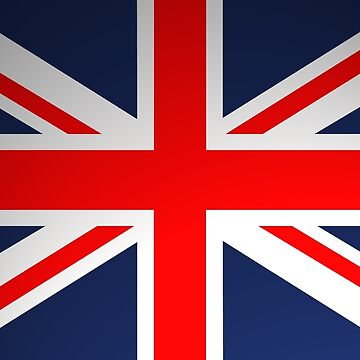 Soft Shaded Union Jack  by VisionZone