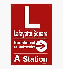 Lafayette Square Northbound Photographic Print