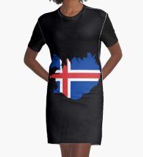 ICELAND Graphic T-Shirt Dress
