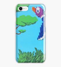 Duck Hunt Purple (Paint 'N' Beads) iPhone Case/Skin