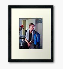 Lovely Lady..... Framed Print