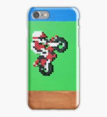 Excitebike (Paint 'N' Beads) iPhone Case/Skin