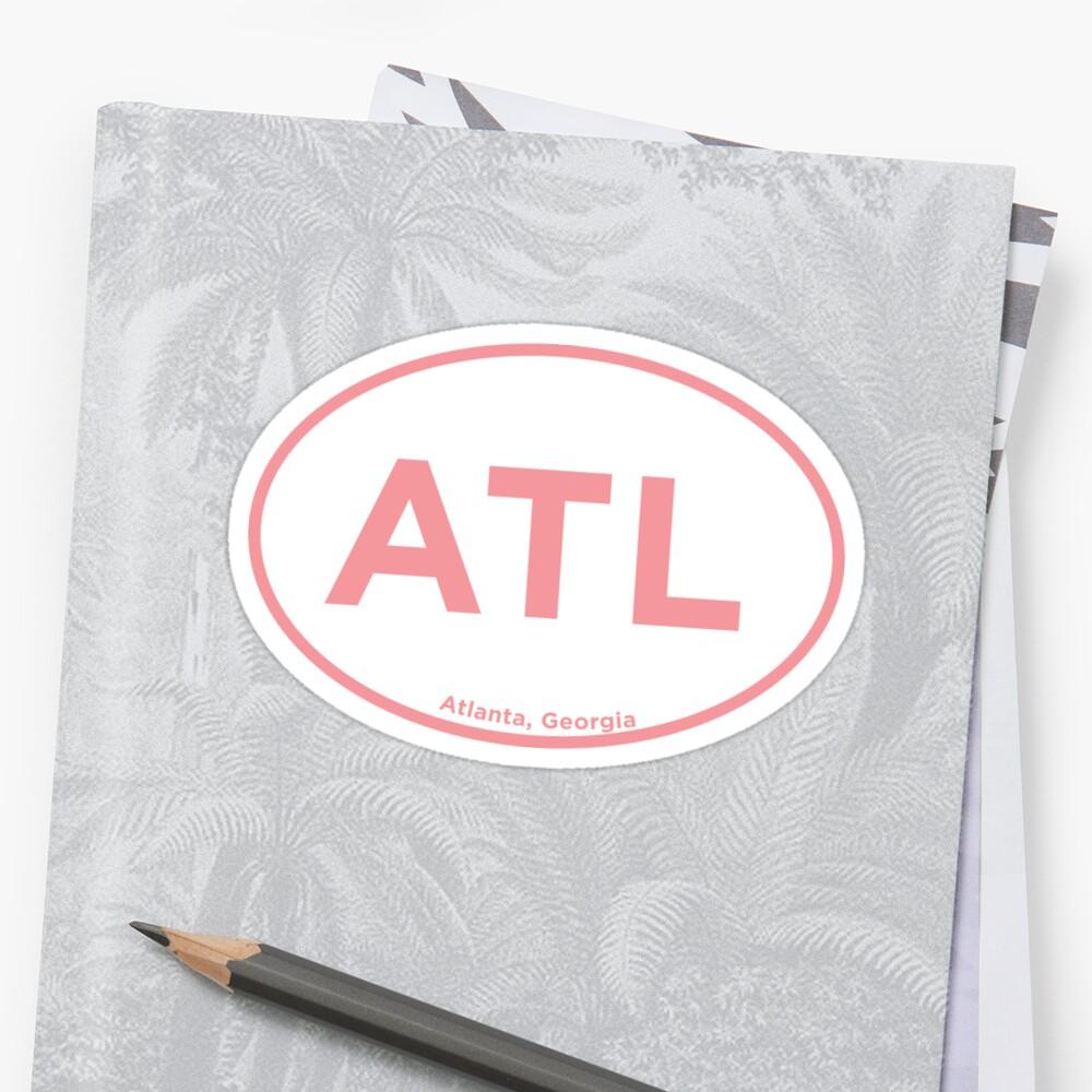 Atlanta Georgia ATL Airport Code by laurajoy16