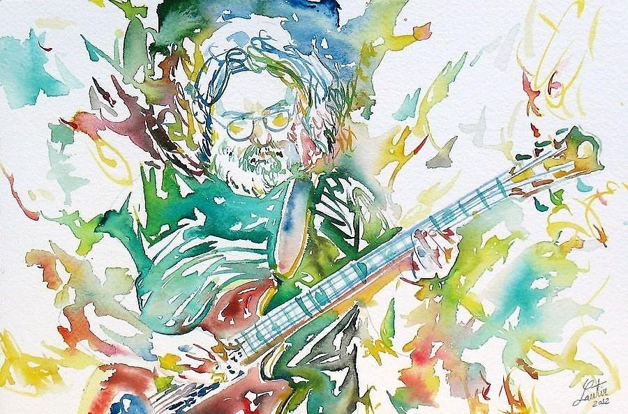 Jerry Garcia by jamikka1111