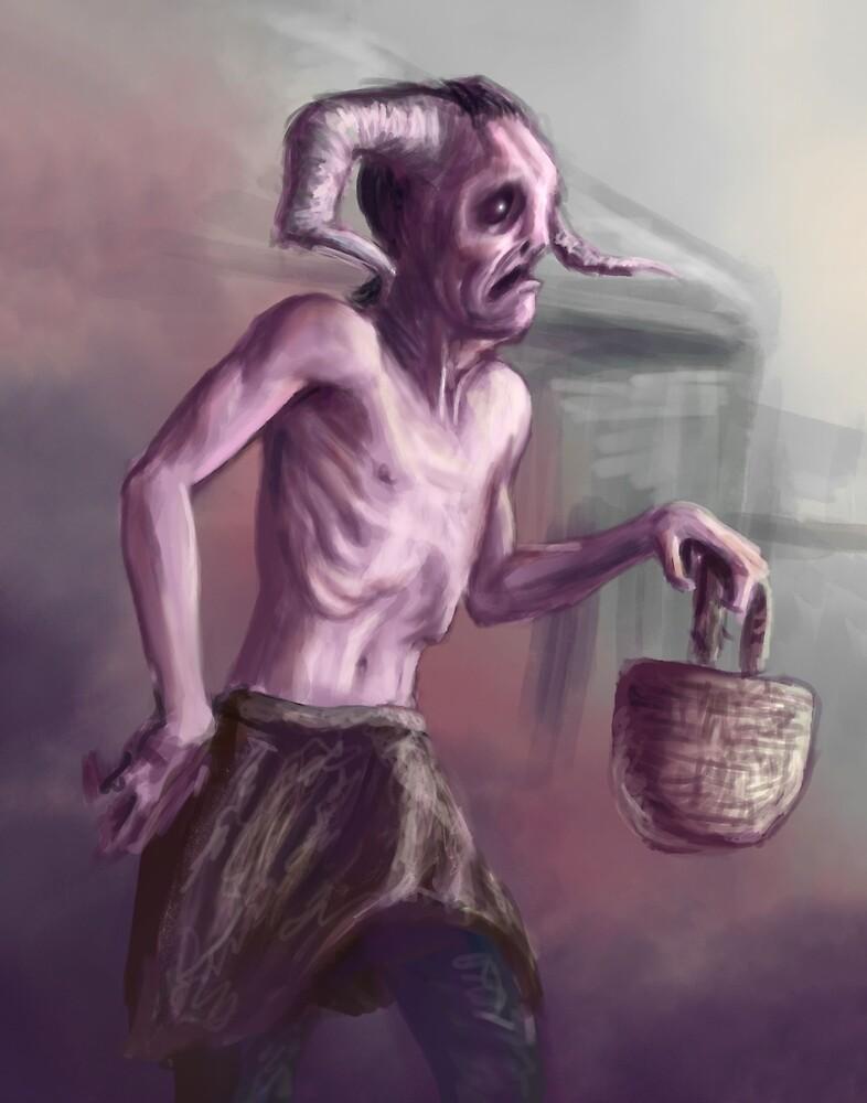 The Sad Satyr by Benjamin Davis