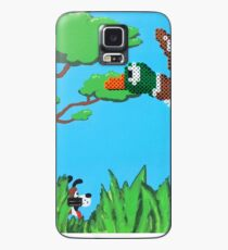 Duck Hunt Brown (Paint 'N' Beads) Case/Skin for Samsung Galaxy