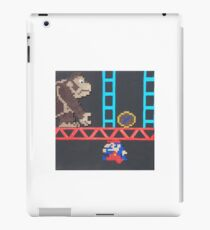 Donkey Kong & Jumpman (Paint 'N' Beads) iPad Case/Skin