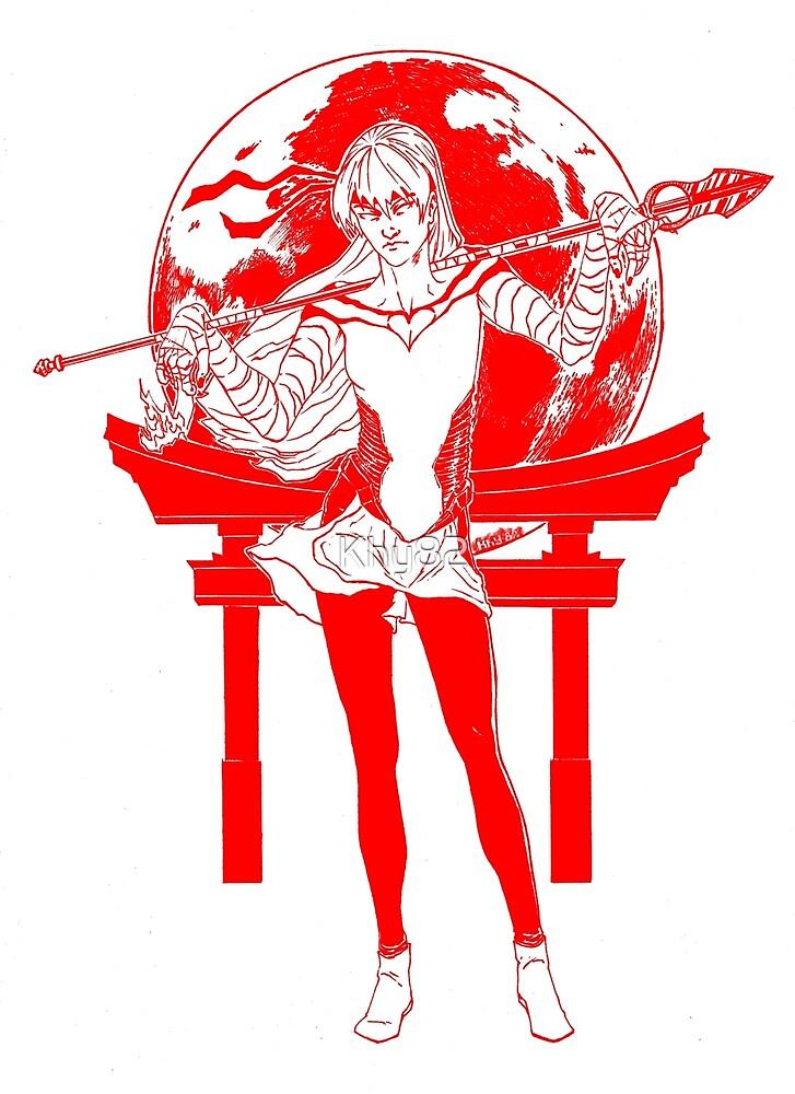 Sailor Mars Redline Variant.  by Khy82