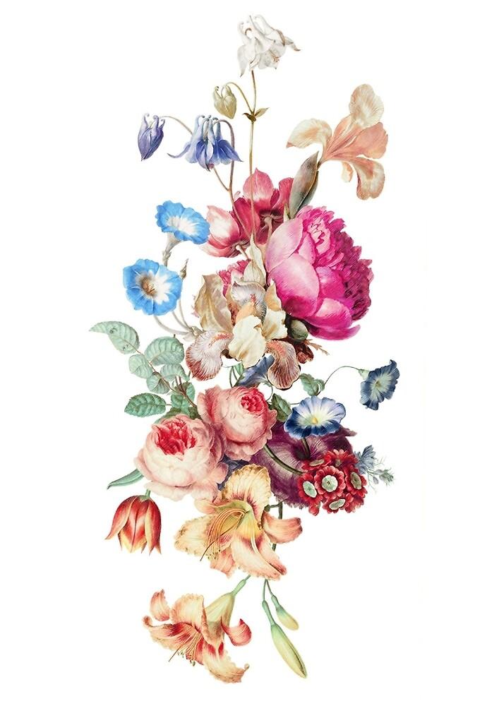 Bouquet of flowers by eleyne