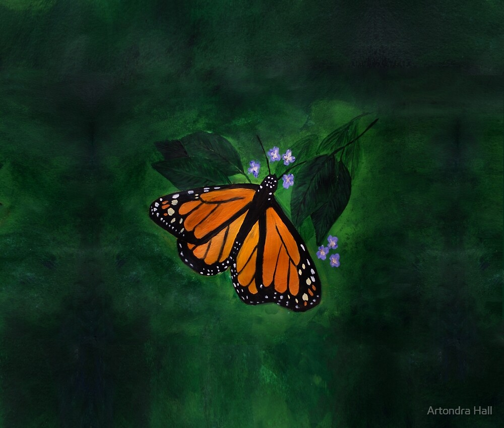 Painted Butterfly by Artondra Hall
