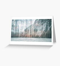 Ocean Forest Greeting Card