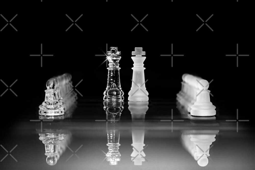 Chess, king vs. king by hottehue
