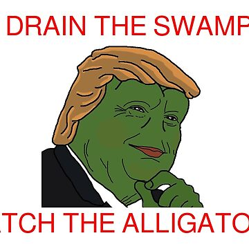 Drain the Swamp, Catch The Alligator by jdylanrees