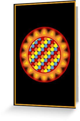 Mandala ver. 4 Card by senysurani