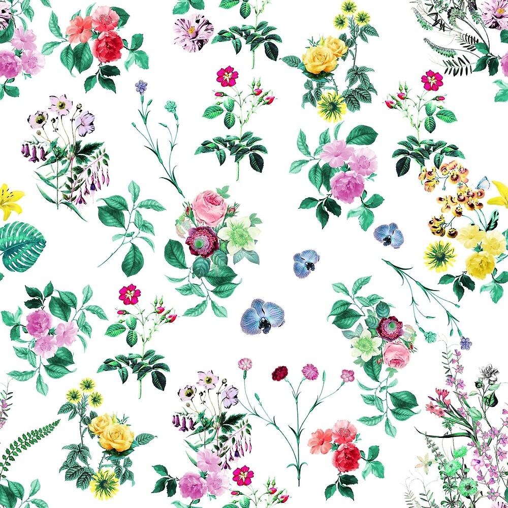 Flower wallpaper by eleyne