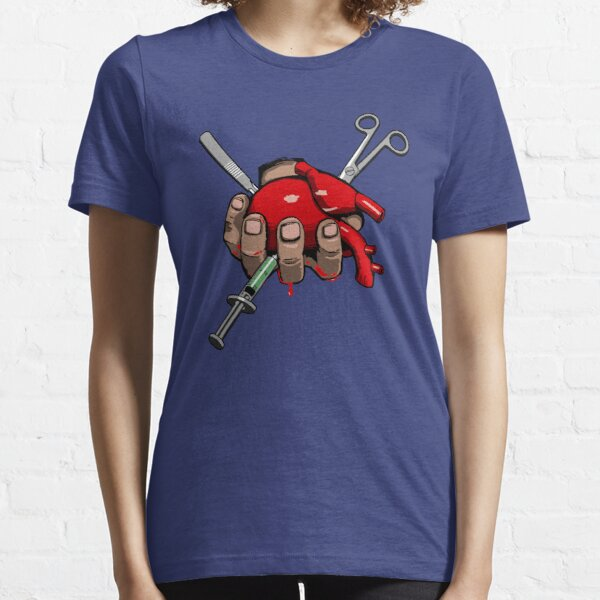 Surgeon Simulator - Heart with Syringes - Official Merchandise Essential T-Shirt