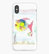 Dicke Fische iPhone Case/Skin
