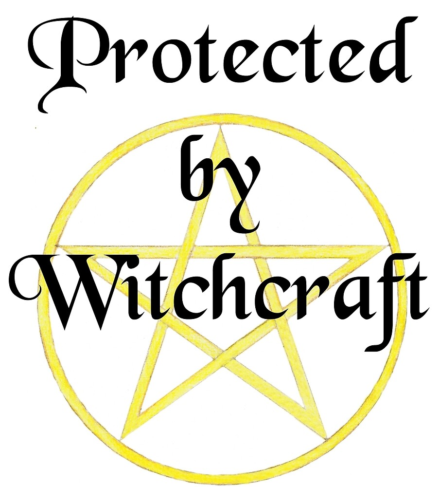 Protected by Witchcraft by svehex