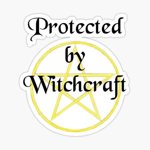 Protected by Witchcraft Sticker