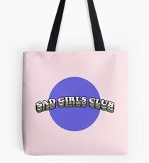 SAD GIRLS CLUB | TRENDY AESTHETICS GRAPHIC TEXT ONLY PRINT Tote Bag