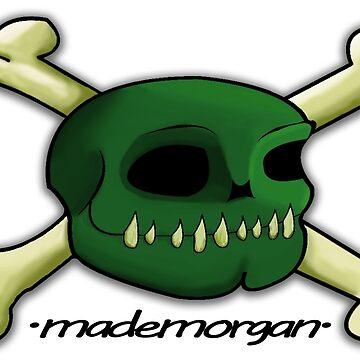 Ogre Skull & Crossbones by mademorgan