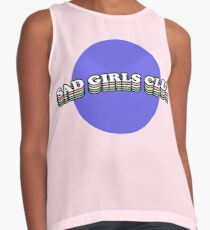 SAD GIRLS CLUB | TRENDY AESTHETICS GRAPHIC TEXT ONLY PRINT Contrast Tank