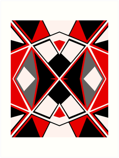 Geometric #603 by Rockett Graphics