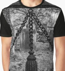 Fence Detail | Sleepy Hollow Cemetery, New York Graphic T-Shirt