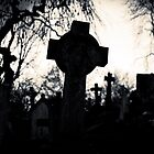 Cemetery Cross by Amanda Norman by Amanda Norman