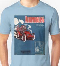 Antique 1905 automobile music sheet cover T-Shirt