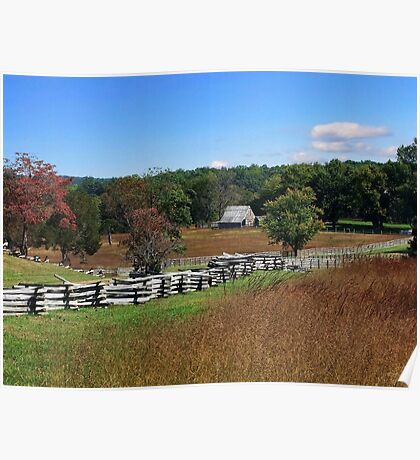 Autumn In The Country Poster