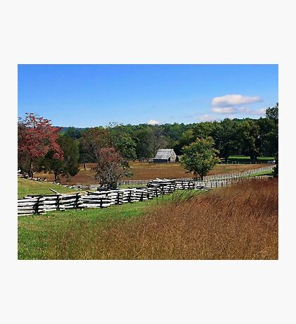 Autumn In The Country Photographic Print